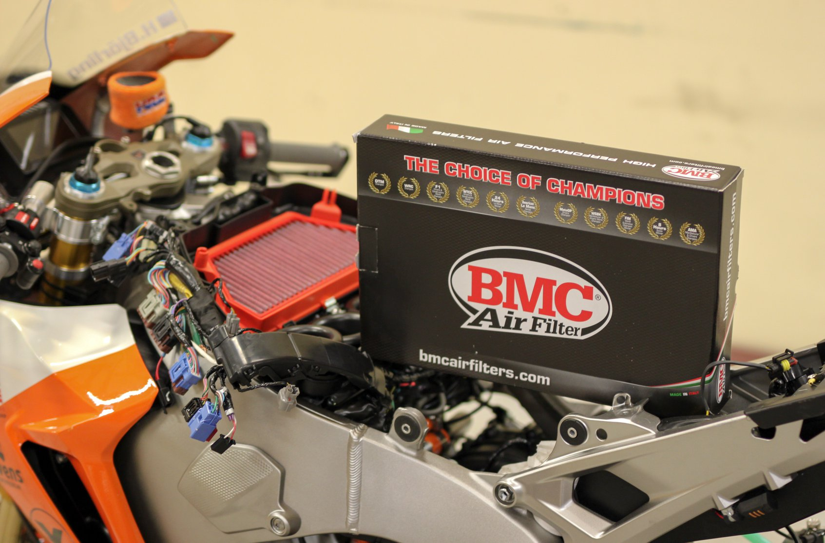 filtre à air moto BMC