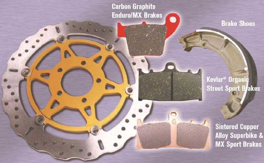 plaquette disque frein moto premier braking